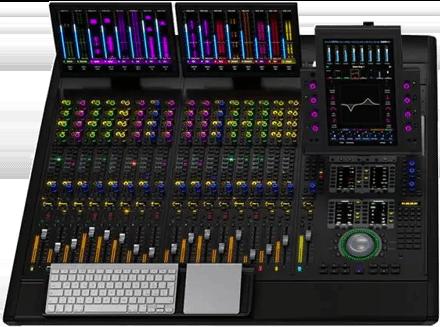Avid S6 M40-16-5-D Pro Tools Control Surface