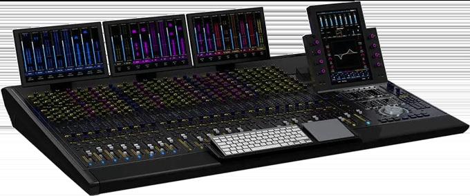 Avid S6 M40-24-9-D Pro Tools Control Surface