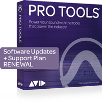 Avid 1-Year Updates + Support for Pro Tools Renewal