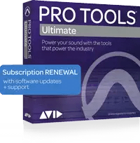Avid Pro Tools | Ultimate 1-Year Subscription Renewal