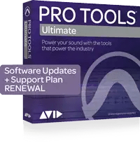 Avid 1-Year Updates + Support for Pro Tools | Ultimate Renewal
