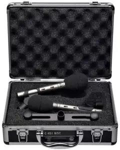 AKG C 451 B/ST Small Diaphragm Condenser Mic - Matched Pair