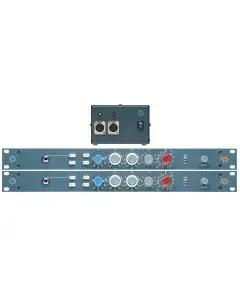 BAE 1073 Mic/Line Preamp/EQ Pair with PSU