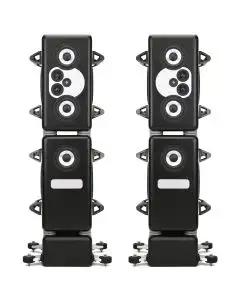 Barefoot Sound MasterStack12 4.5-Way Active Monitor Tower - Pair with Handles