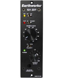 Earthworks 521 ZDT 500 Series Microphone Preamp