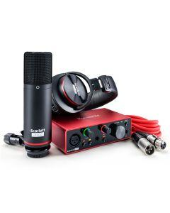 Focusrite Scarlett Solo Studio USB Audio Interface - 3rd Gen