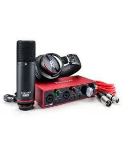 Focusrite Scarlett 2i2 Studio USB Audio Interface - 3rd Gen