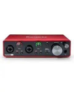 Focusrite Scarlett 2i2 USB Audio Interface - 3rd Gen