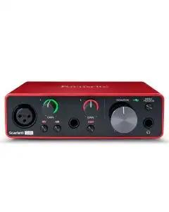 Focusrite Scarlett Solo USB Audio Interface - 3rd Gen
