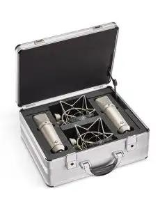 Neumann U 87 Ai Large Diaphragm Condenser Stereo Set - Nickel