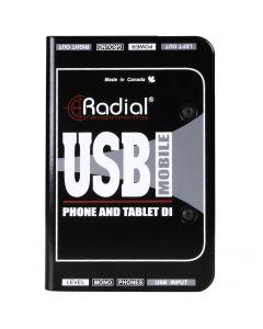 Radial Engineering USB Mobile Tablet and Smartphone DI