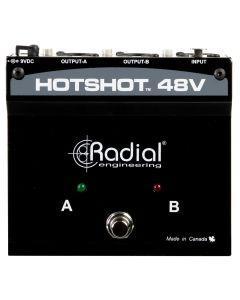 Radial Engineering HotShot 48V Phantom Power Supply/Footswitch