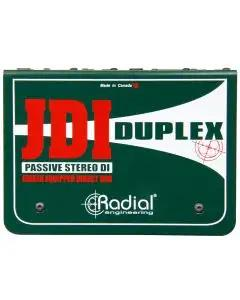 Radial Engineering Duplex Passive Full-Featured Stereo Direct Box