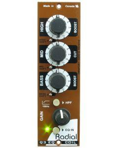 Radial Engineering Q3 500 Series 3-band EQ