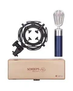 Schoeps V4 USM Studio Condenser Vocal Microphone Set - Blue
