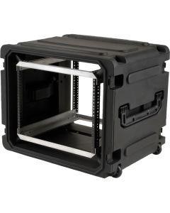 SKB 3SKB-R08U20W Roto-Molded Rolling 8U Rack Case