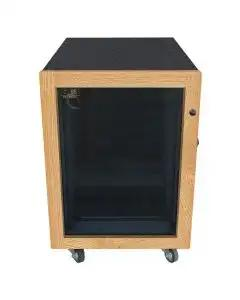 Sound Construction IsoBox Studio - 16 Space, Oak - Right