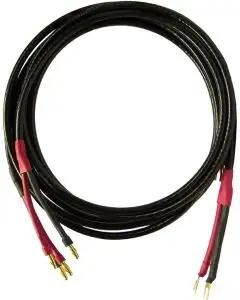 Straight Wire Pro SC Spade to Banana 15' Speaker Cable - Pair