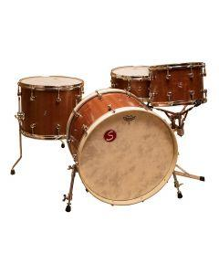 Sugar Percussion Custom 4pc Stave-Built Drum Kit