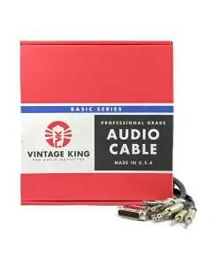 Vintage King Basic Series DB25 - TRS - 10'