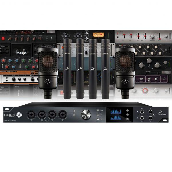 Antelope Audio Orion Studio rev.17 + 2 Edge solo + 4 Verge ...