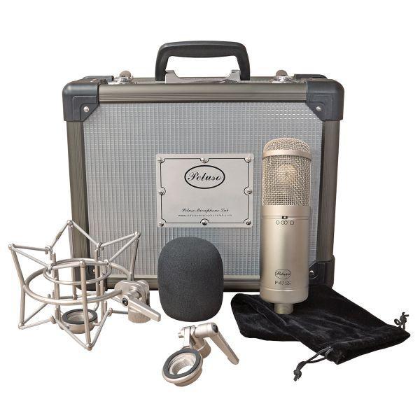 Peluso Microphone Lab P-47 SS Micrófono de condensador de diafragma grande-view5