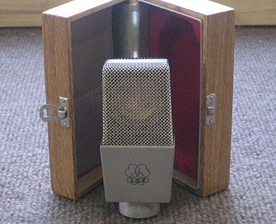 Vintage AKG C12A microphone