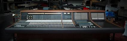 A classic vintage API recording console