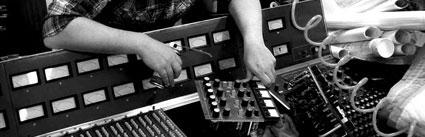 Expert servicing of a vintage recording console