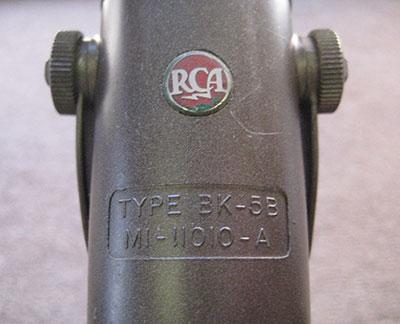 Vintage RCA BK-5B ribbon microphone