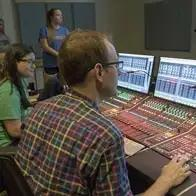 Ohio University Sound Engineering Class