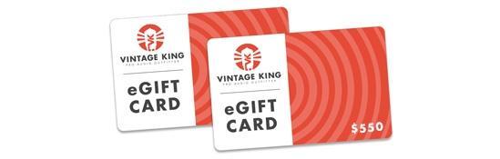 Vintage King eGift Card
