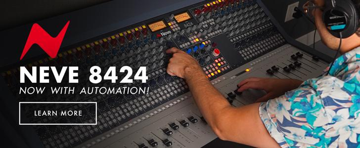 Neve 8424 Recording Console!