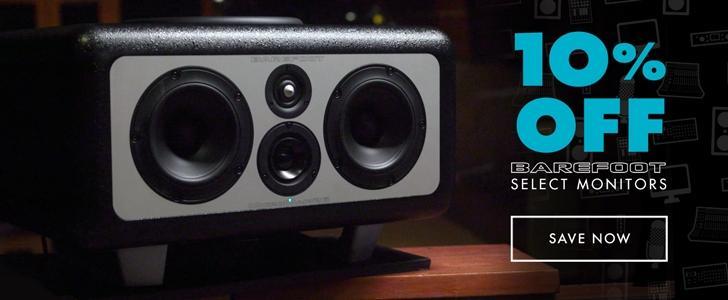 Barefoot Sound Monitors on Sale!