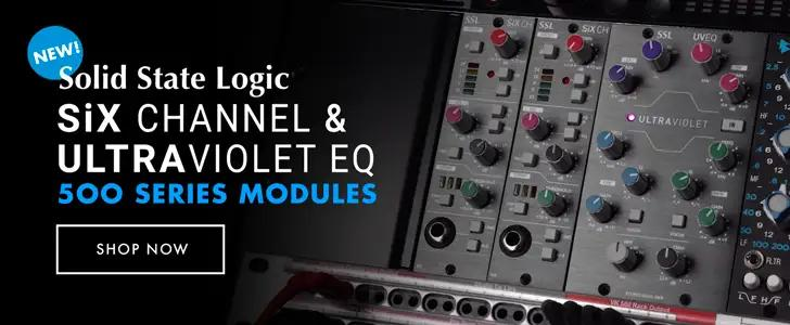 Introducing New 500 Series Modules from Solid State Logic!