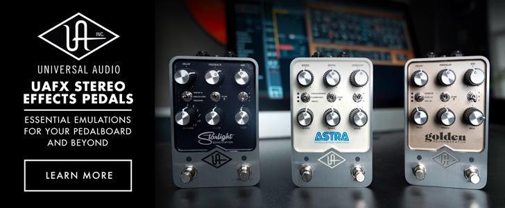 New Universal Audio UAFX Pedals!