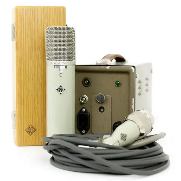 A vintage Telefunken Ela-M 250 with power supply
