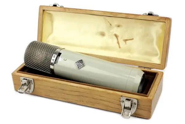Telefunken Ela-M 251 E nestled in its original box