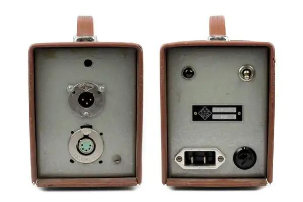 Telefunken Ela-M 251 power supply front and rear
