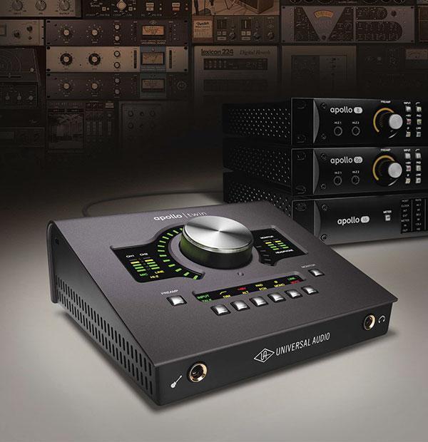A glimpse at the Universal Audio Apollo product family