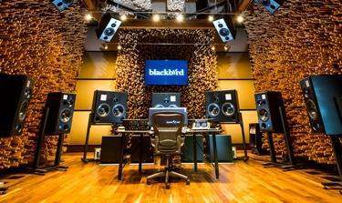 mastering room at blackbird studio