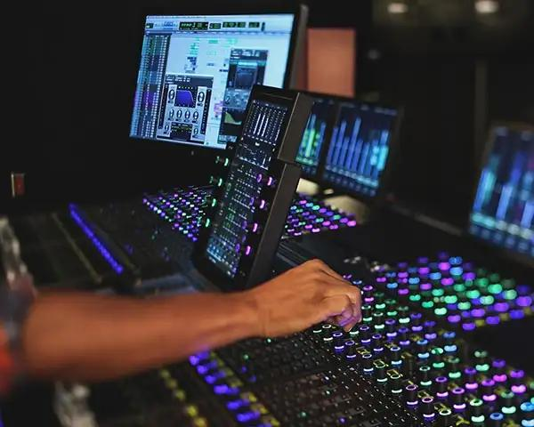 Audio post production with Avid S6 Control Surface