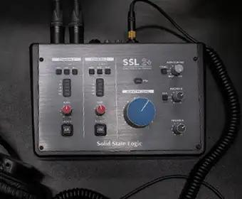 SSL USB audio interface