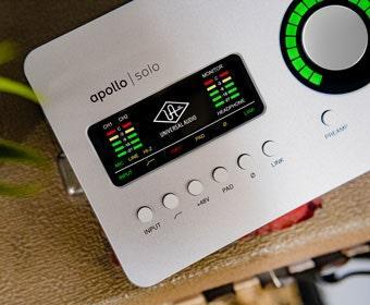 universal audio arrow interface