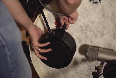 Kick drum dampening