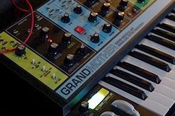 moog grandmother analog synth and step sequencer