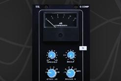 ssl xlogic stereo compressor