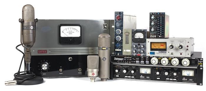 A sampling of Vintage King's massive vintage audio gear selection