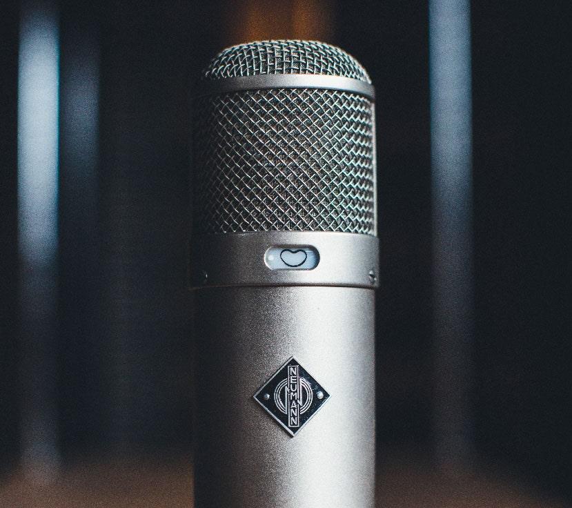 Vintage Neumann U47 tube microphone
