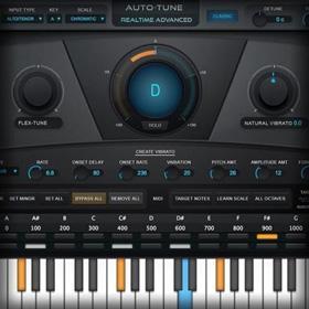 Antares Auto-Tune Realtime Advanced plug-in